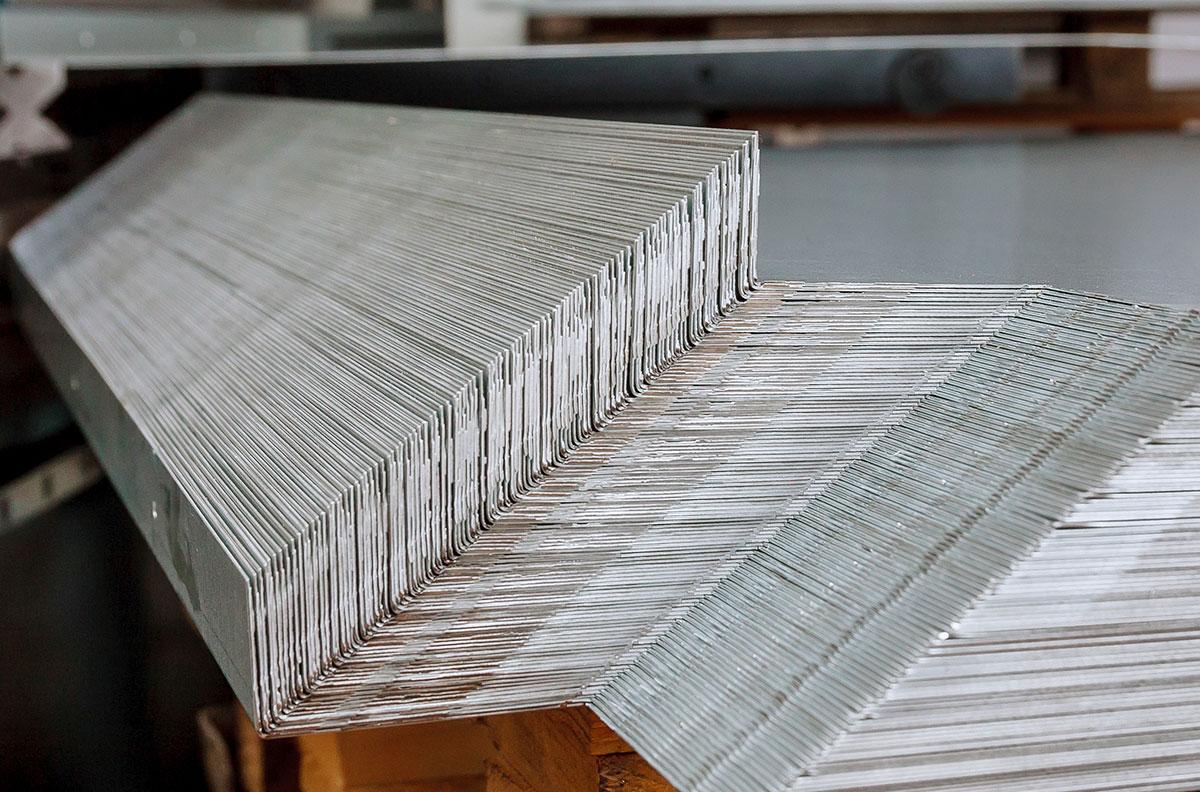 Abkanten - HERA Beschichtungstechnik